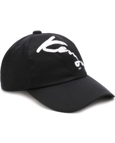 Черная бейсболка с логотипом Kenzo