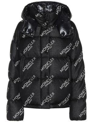 Стеганая куртка - черная Moncler