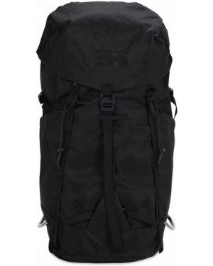 Czarny plecak z haftem z nylonu Mountain Hardwear