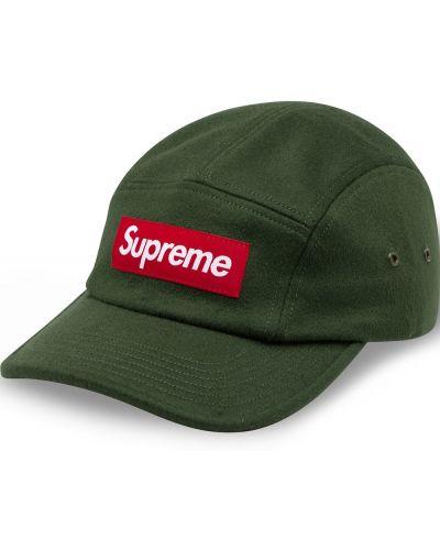 Z paskiem bawełna bawełna czapka z daszkiem z łatami Supreme
