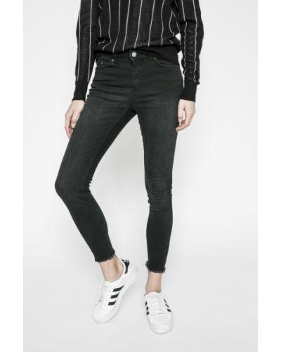 Черные джинсы-скинни Pieces