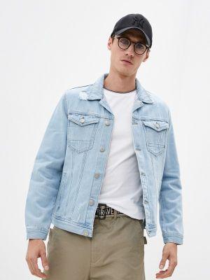 Голубая весенняя куртка Defacto