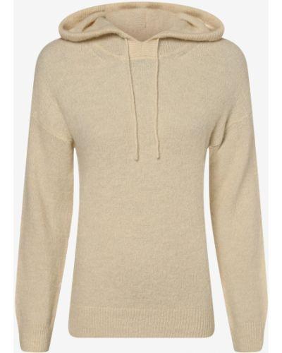 Beżowy sweter z kapturem Moss Copenhagen