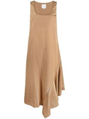 Шелковое платье - бежевое Ballantyne