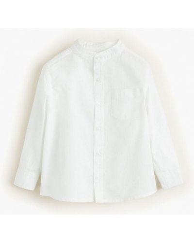 Рубашка белая индийский Mango Kids