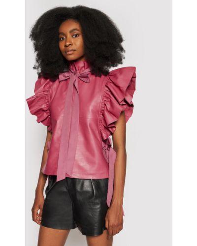 Różowa bluzka Custommade