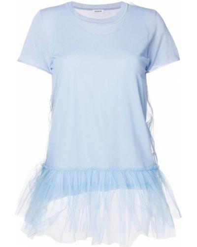 Синяя рубашка P.a.r.o.s.h.