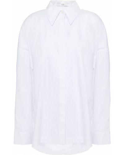 Biała koszula bawełniana - biała Tibi