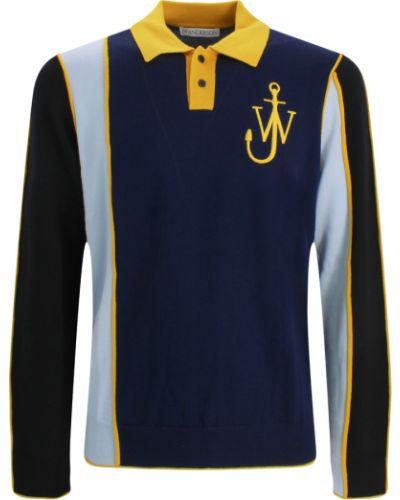 Niebieski sweter Jw Anderson