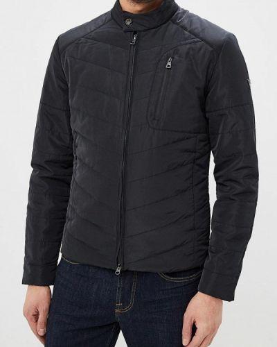 Утепленная куртка черная Ea7