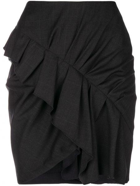 Spódnica jeansowa - czarna Isabel Marant Etoile