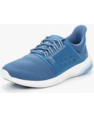 Синие кроссовки низкие Asics