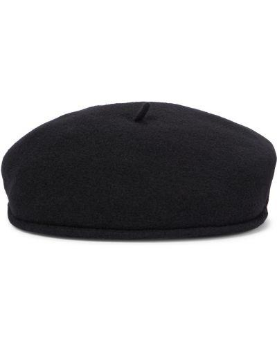Берет с вышивкой - черный Marine Serre