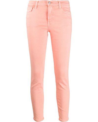 Укороченные джинсы на пуговицах скинни J Brand
