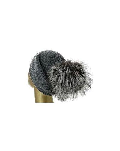Серая шапка William Sharp