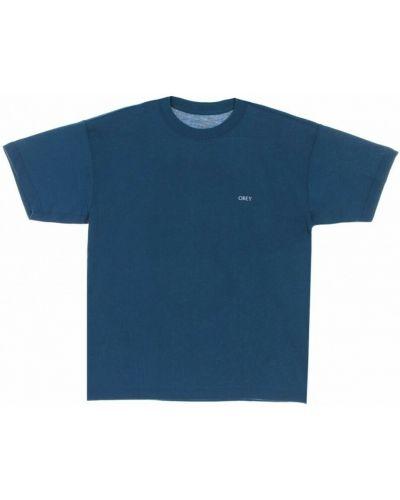 Niebieska t-shirt Obey