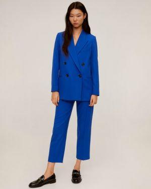 Пиджак двубортный на пуговицах Mango