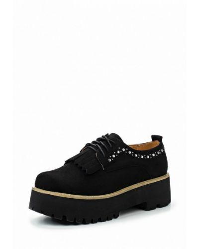 Ботинки на каблуке замшевые Vh