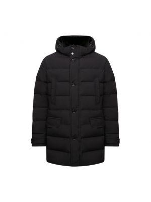 Черная итальянская куртка Moorer