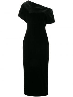Платье шелковое с открытыми плечами Christopher Kane