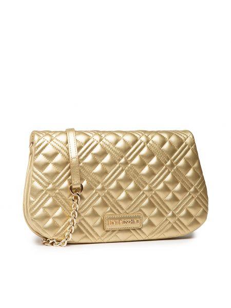 Złota torebka Love Moschino