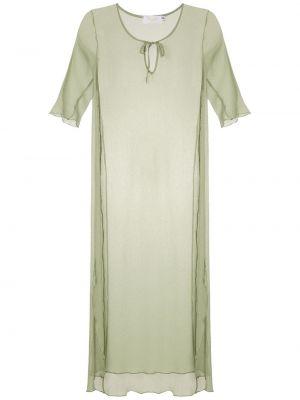 Платье мини миди с разрезами по бокам Brigitte