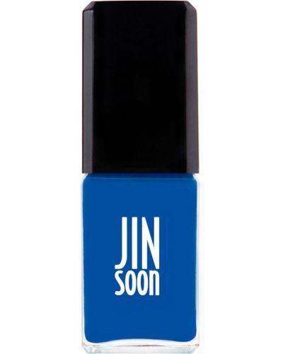 Лак для ногтей синий Jinsoon