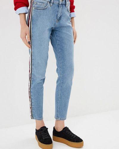 Голубые джинсы бойфренды Tommy Hilfiger