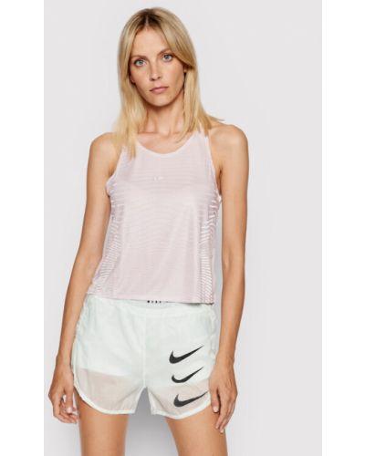 Bluzka - różowa Nike
