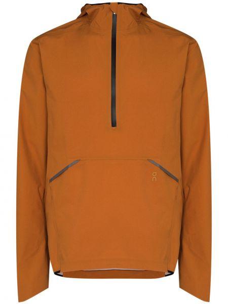 Анорак - оранжевая On Running