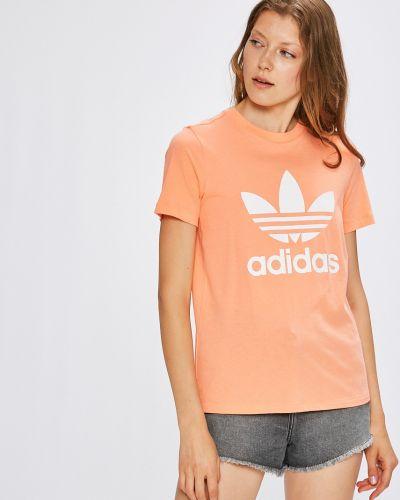 Футболка розовый эластичный Adidas Originals