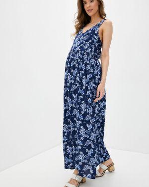Платье платье-сарафан синее Mammysize