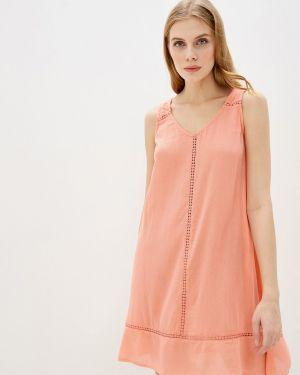 Пляжное платье осеннее розовое Marks & Spencer
