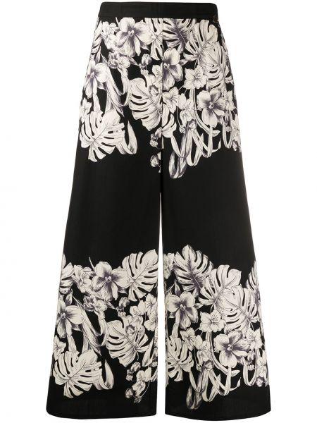 Укороченные брюки свободные в цветочный принт Twin-set