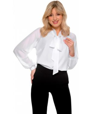 Шифоновая блузка - белая Nikol