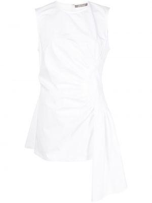 Блузка без рукавов - белая Lela Rose
