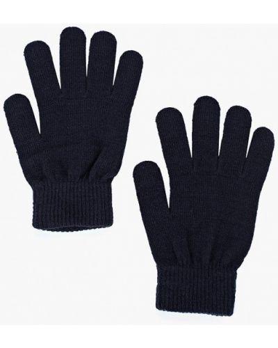 Синие перчатки текстильные Ovs