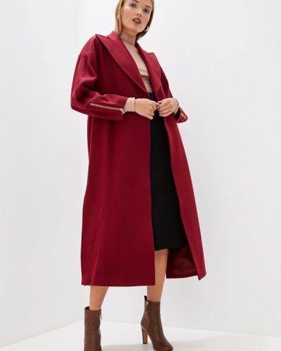 Пальто демисезонное бордовый Just Cavalli
