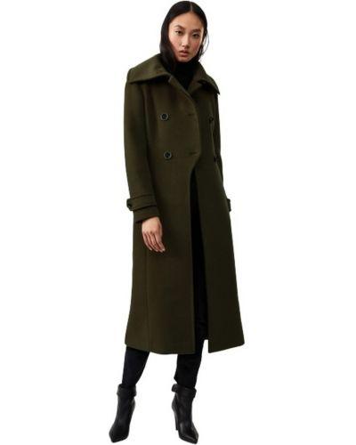Zielony płaszcz oversize Mackage