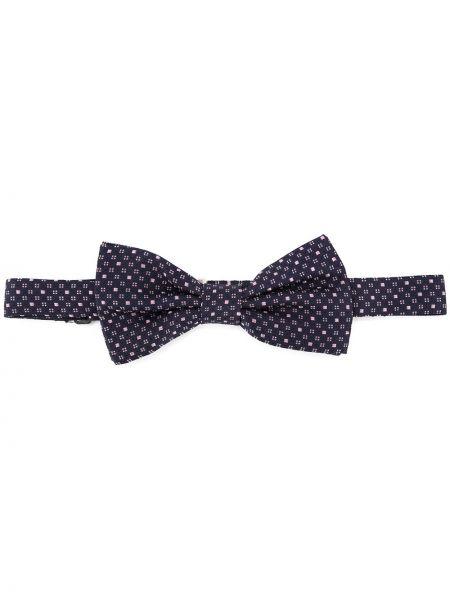 Krawat jedwab niebieski Eredi Chiarini