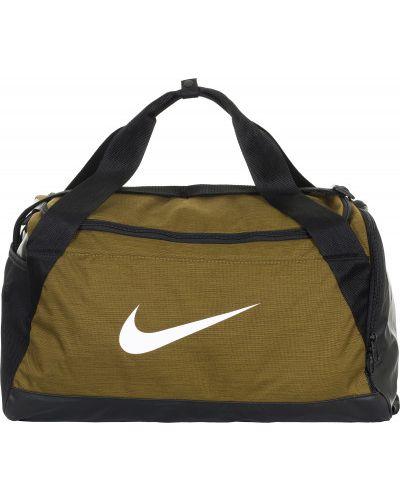 Зеленая текстильная сумка Nike