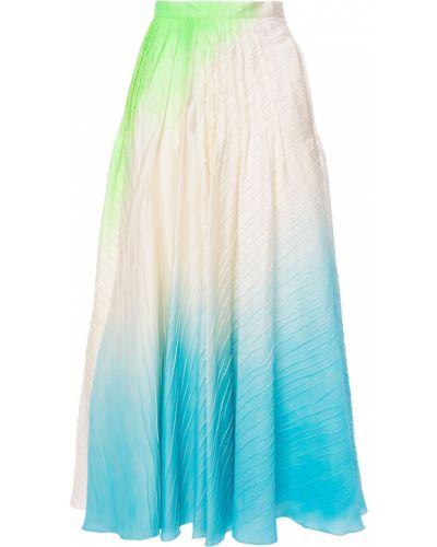 Zielona ażurowa spódnica Roksanda