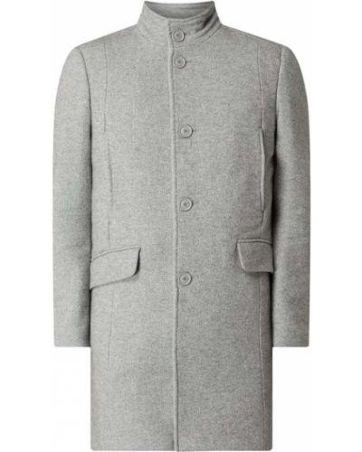 Płaszcz wełniany ze stójką Mcneal