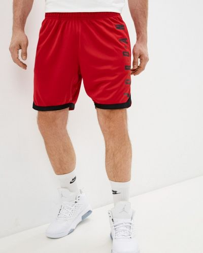 Красные спортивные шорты Jordan