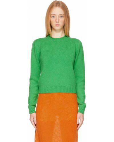 Зеленый кашемировый свитер The Elder Statesman