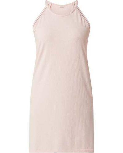 Koszula nocna z wiskozy - różowa Esprit