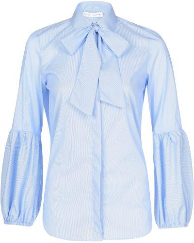 Хлопковая блузка - голубая Skills & Genes