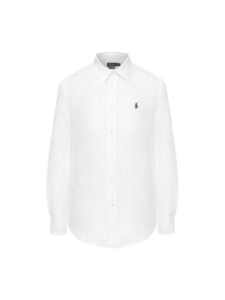 Рубашка с длинным рукавом льняная классическая Polo Ralph Lauren