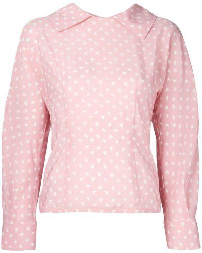 Блузка в грошек Marni