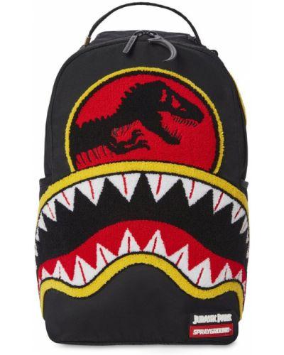 Рюкзак с карманами - черный Sprayground
